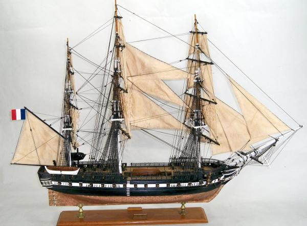 how to make a model first fleet ship